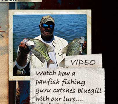 VIDEO - Watch Mr. Kenneth Smith, a Pennsylvania panfish fishing guru catch bluegills with Stubby Steve's pellets!